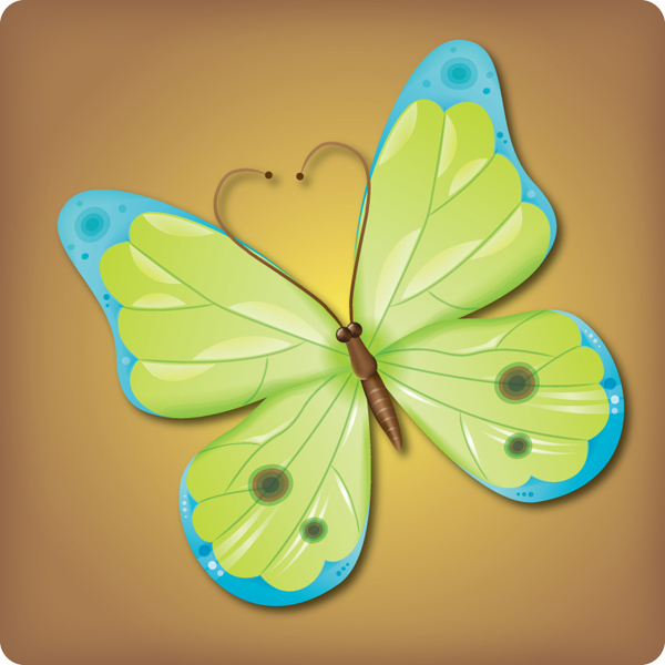 Make an Attractive Vector Butterfly