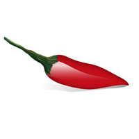 Illustrating a Chili Pepper with Illustrator's Envelope Distort Tool