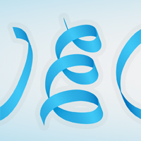 Create a Silky Ribbon Text Effect