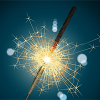 Create a Realistic, Burning Sparkler Using Adobe Illustrator
