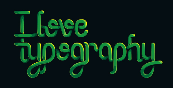 How to Create an Entangled Lettering Illustration – Part 2