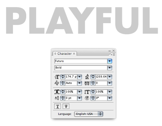 Picture 1 Hiệu Ứng Chữ 3D: PLAYFUL trong Photoshop