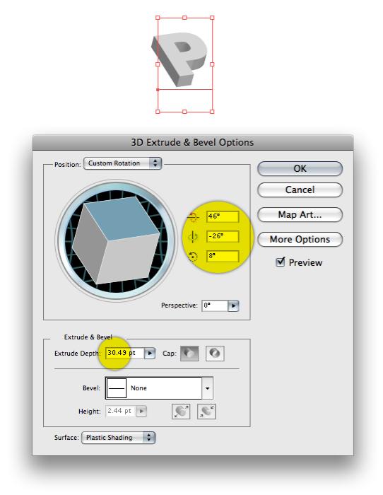 Picture 2 Hiệu Ứng Chữ 3D: PLAYFUL trong Photoshop