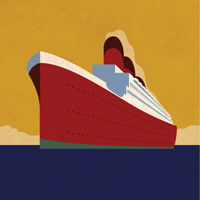 How to Create a Vintage Ocean Liner Poster