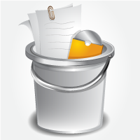 How to Create a Shiny Bucket Icon