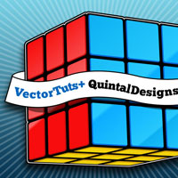 Create a Stylized, Vector Rubik's Cube – Screencast