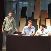 New Yorker Cartoonists Diffee, Dernavich and Kanin at Gel Conference 2011