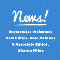 Vectortuts+ Welcomes New Editor, Kate McInnes & Associate Editor, Sharon Milne