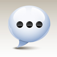 QuickTip: How to Create a Glossy Speech Bubble Icon