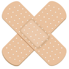 Quick Tip: Create an Adhesive Bandage Using Multiple Effects