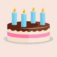 Quick Tip: Create a Retro-inspired Stylized Birthday Cake