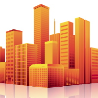 Create a Shimmering Cityscape in Perspective, Using Illustrator CS5